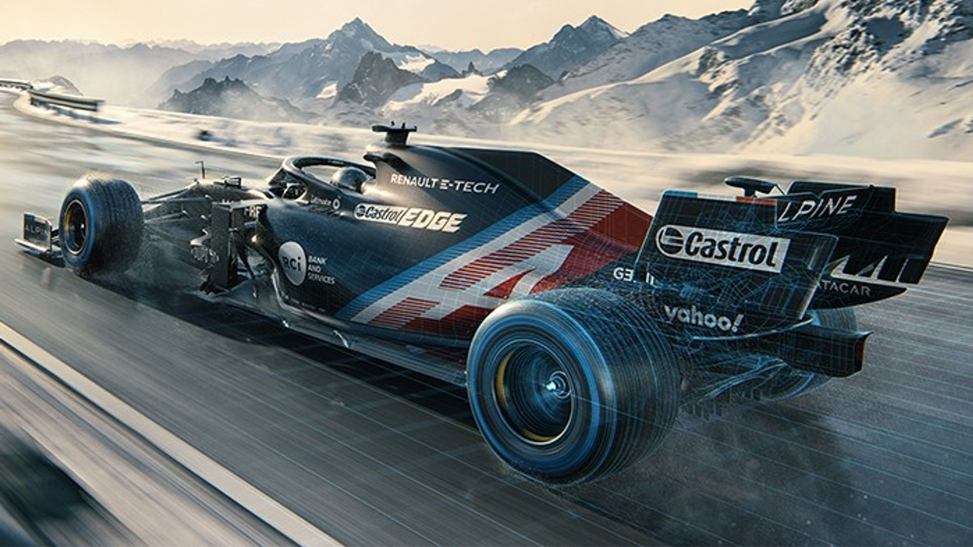 Renault reveal first look at Alpine F1 livery