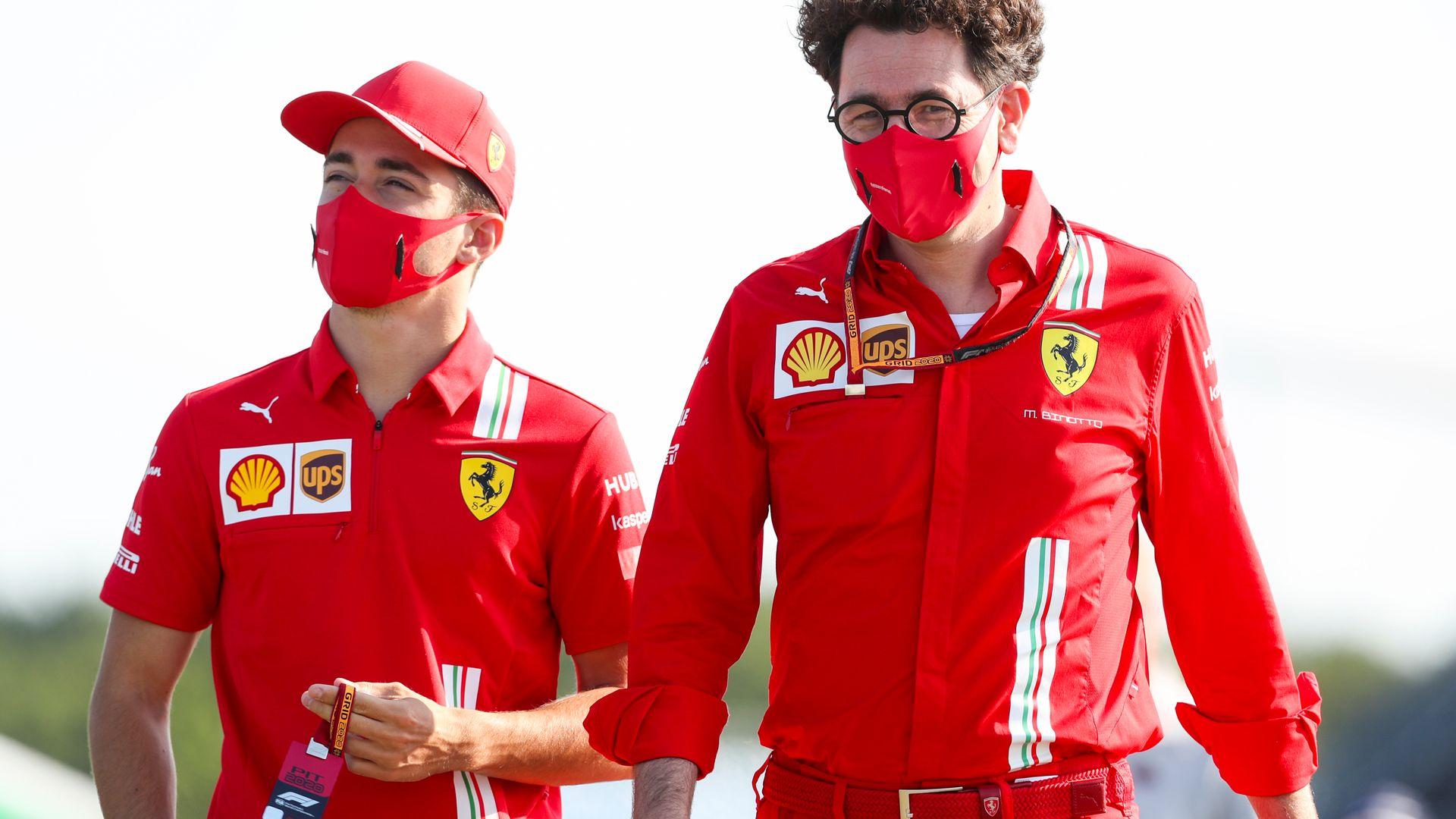 Ferrari on Leclerc vs Sainz, and no Hamilton 'regret'