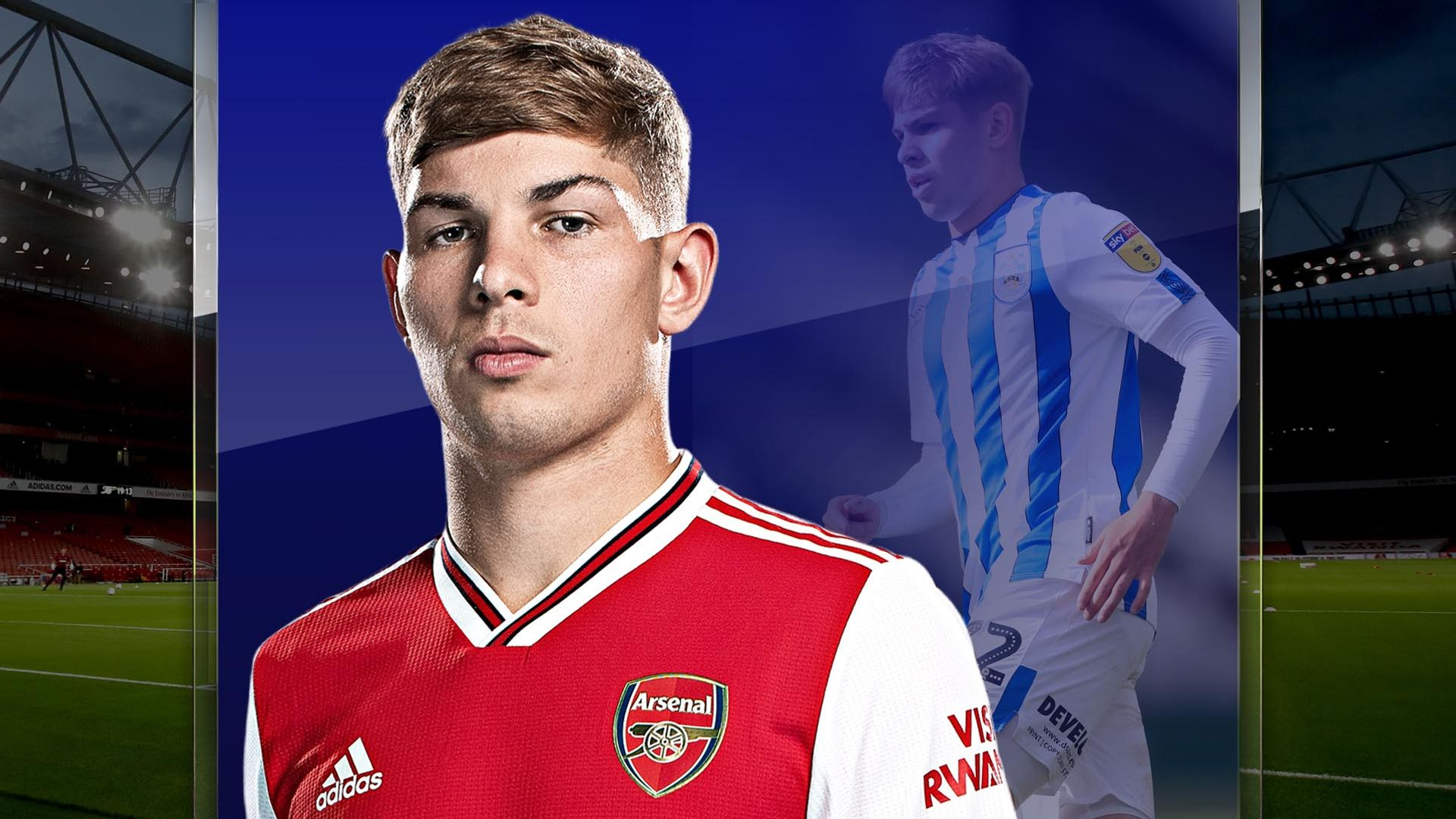 Smith Rowe grew up in Championship
