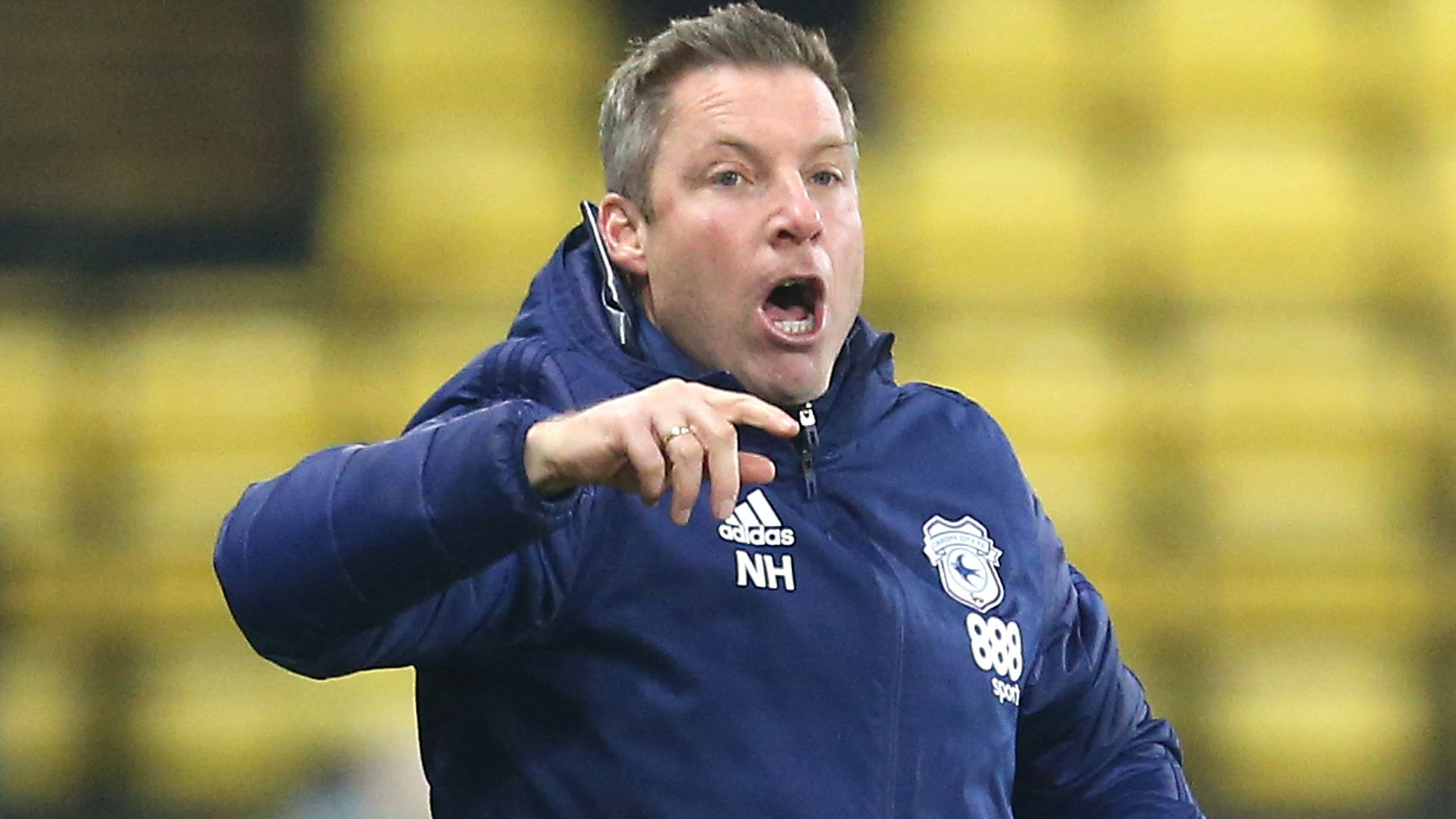 Cardiff boss Harris handed one-match ban