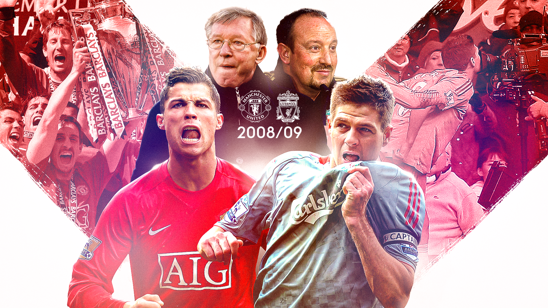 Liverpool-Man Utd's last title race: Fergie, 'facts' and more