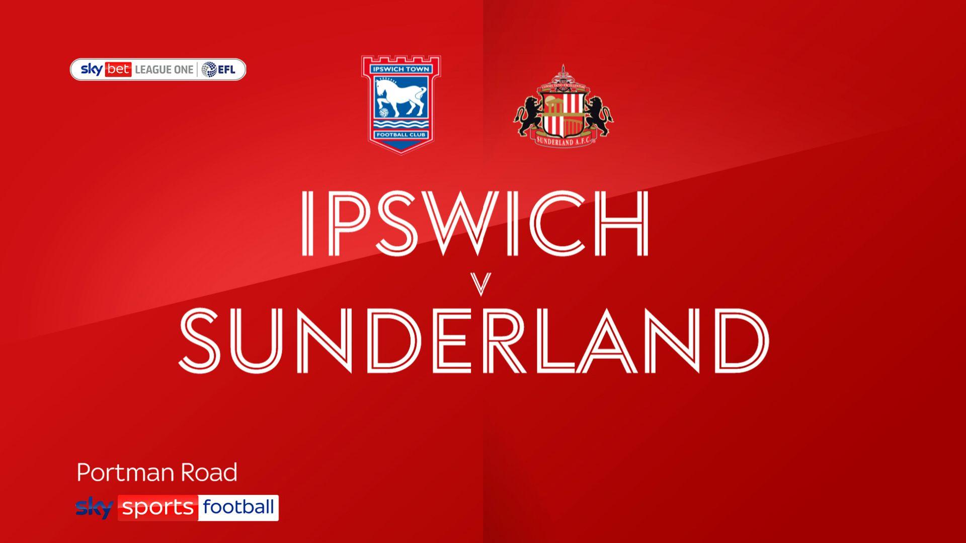 Wyke steers Sunderland past Ipswich