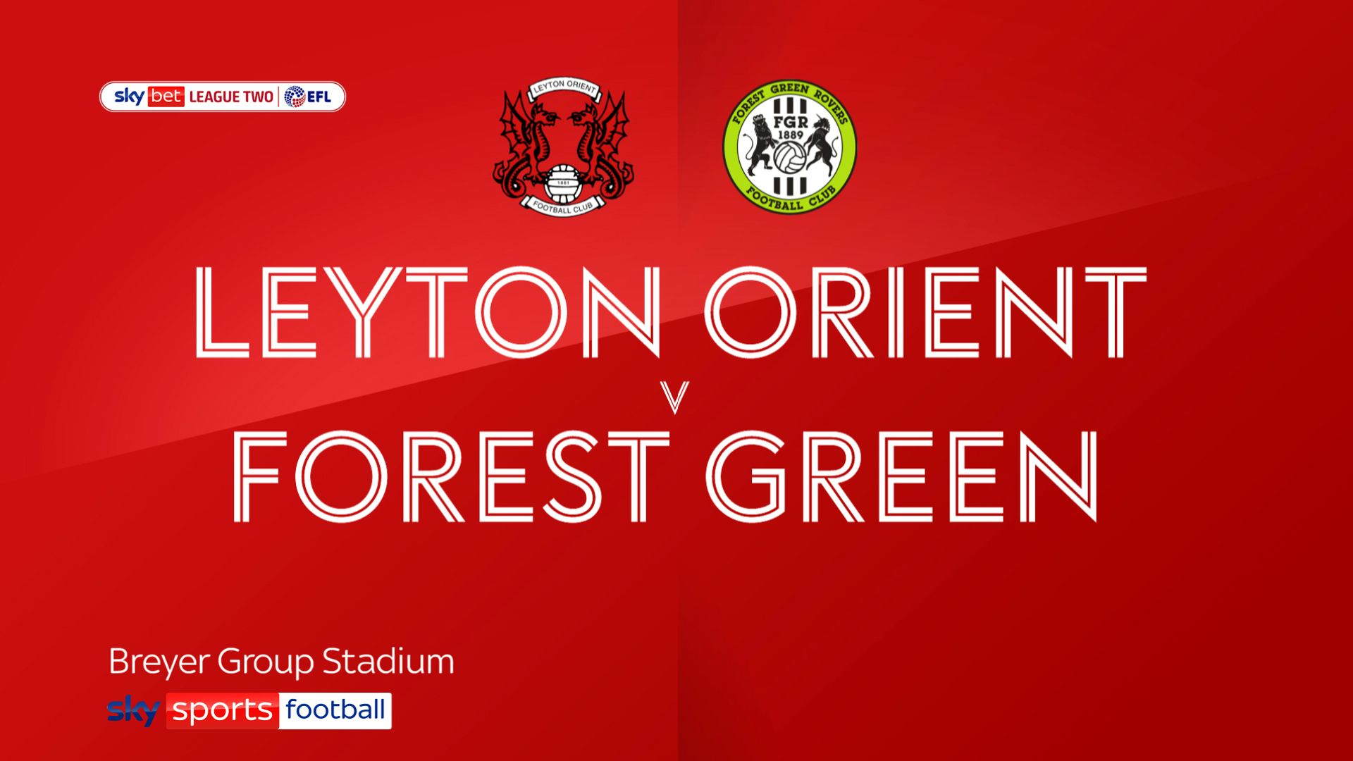 Leyton Orient strike back to hold leaders Forest Green