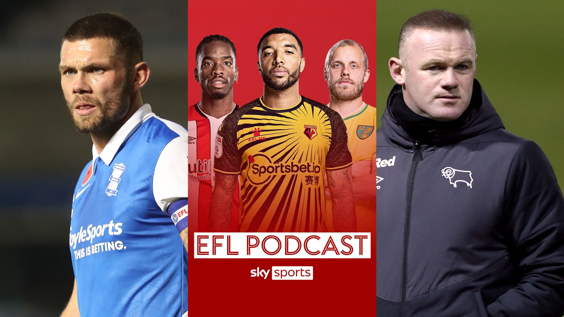 EFL Podcast: Rooney takes charge & Harlee's heroes