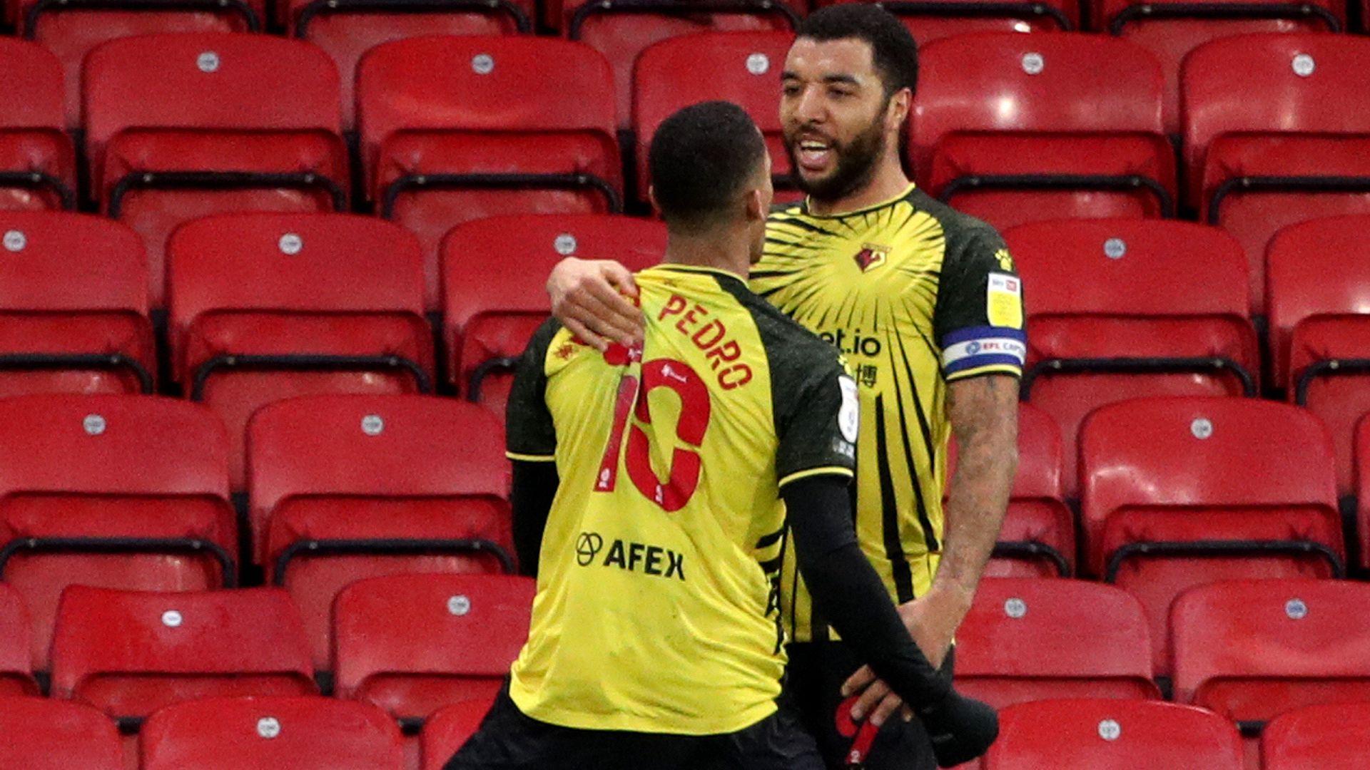 Cleverley, Pedro score in Watford win