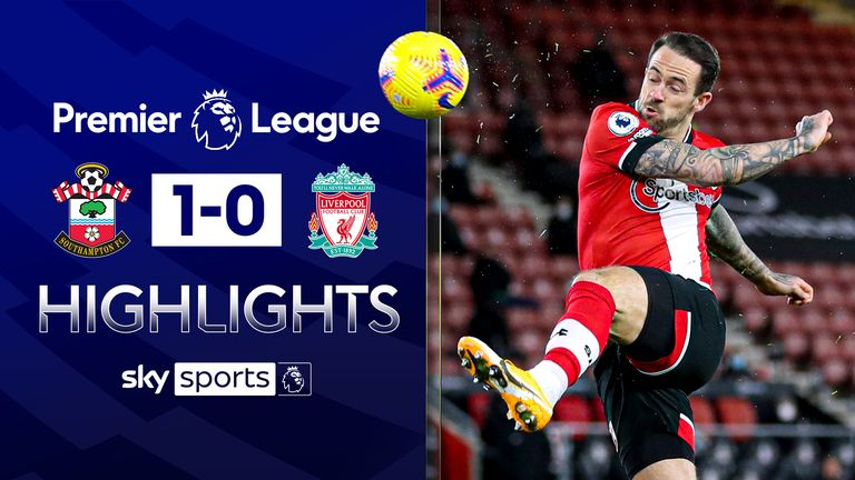 FREE TO WATCH: Highlights from Southampton's win over Liverpool in the Premier League.