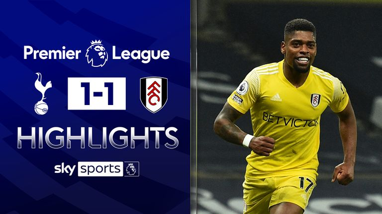 FREE TO WATCH: Highlights from Fulham's draw with Tottenham