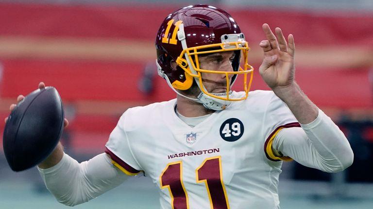 Washington Football Team quarterback Alex Smith. (AP Photo/Rick Scuteri)