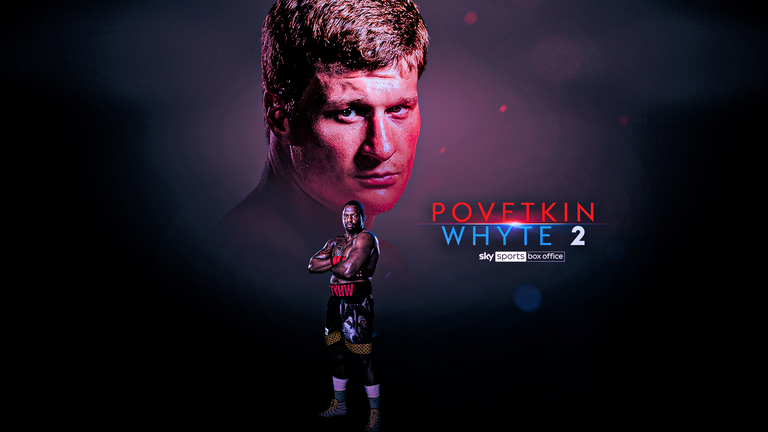 Povetkin vs Whyte 2 is on March 27, live on Sky Sports Box Office