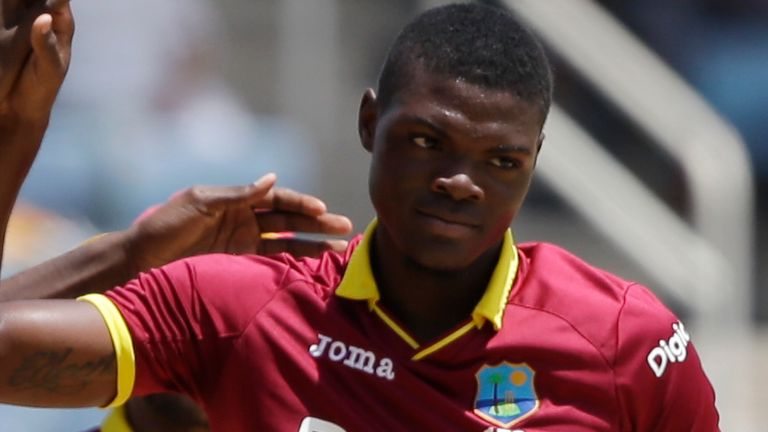 Fast bowler Alzarri Joseph will be available for Worcestershire's first seven County Championship matches