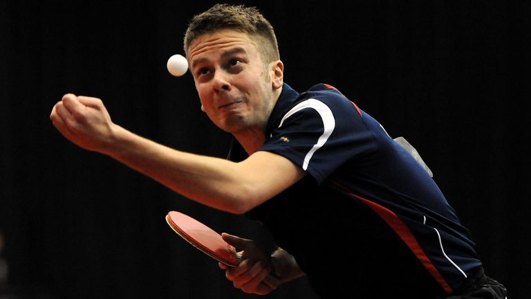 Andrew Baggaley will be in action at the World Ping Pong Masters