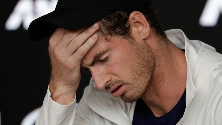 Andy Murray was awarded a wild card to compete at the Australian Open