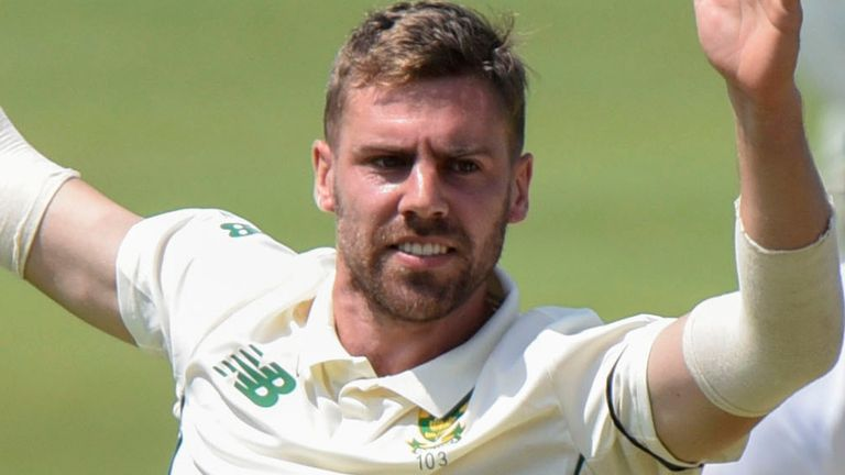 South Africa quick Anrich Nortje claimed his third five-wicket haul in Test cricket
