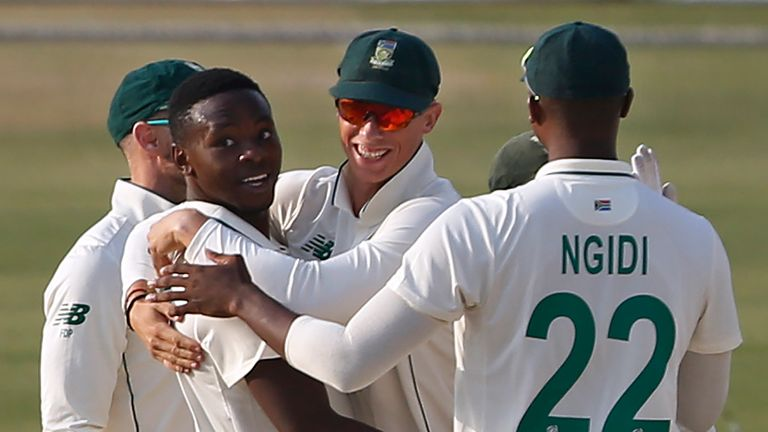 South Africa are now seventh in the ICC Test rankings
