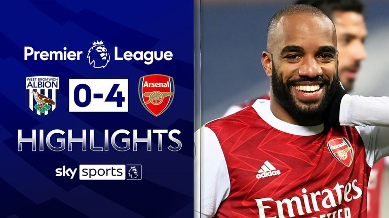 FREE TO WATCH: Highlights from Arsenal's win over West Brom in the Premier League.