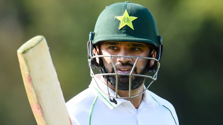 Azhar Ali top-scored for Pakistan with 93, sharing a stand of 88 with captain Mohammad Rizwan (61) for the fifth wicket