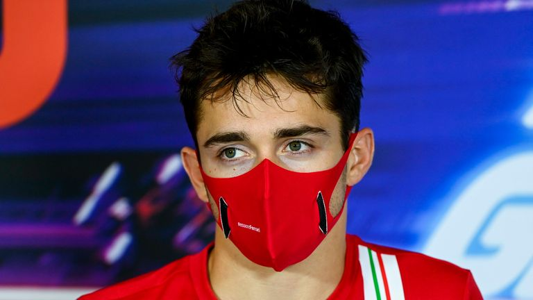 Charles Leclerc Says He Is Suffering Mild Symptoms After Testing Positive For Coronavirus