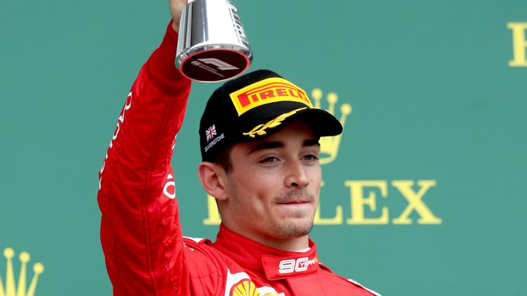 Leclerc finished eighth in the 2020 drivers standings