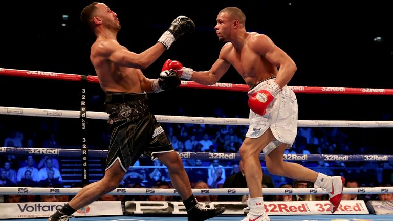 Eubank Jr's career-best win over James DeGale was two years ago