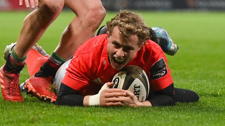 Munster's 21-year-old scrum-half has earned his first full Ireland call-up