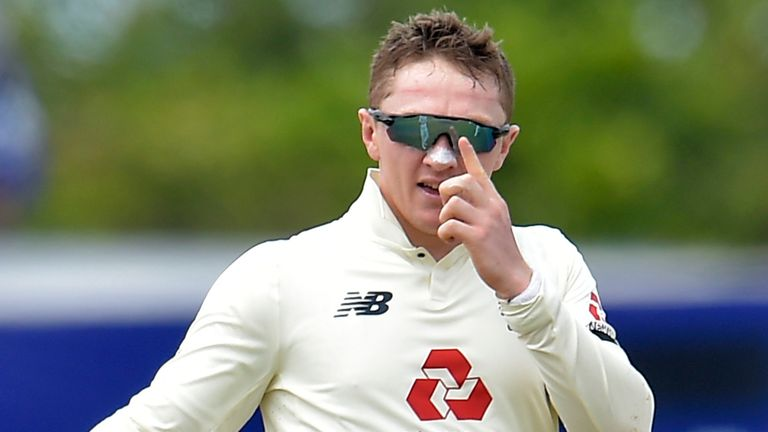 Dom Bess has taken eight wickets in the first Test