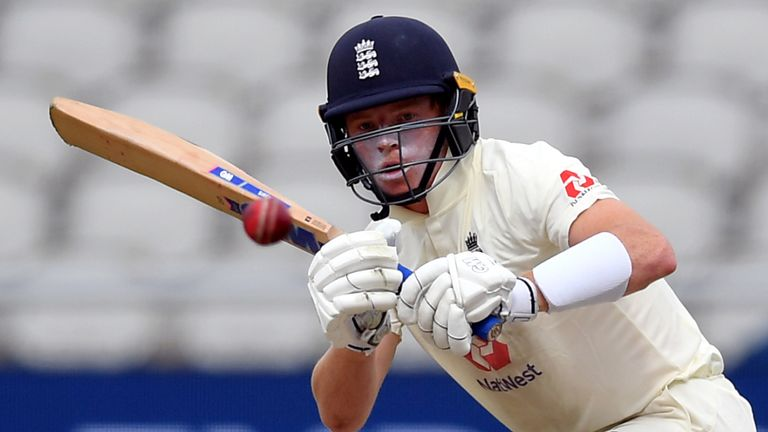 Ollie Pope featured in England's intra-squad warm-up match ahead of the first Test in Galle