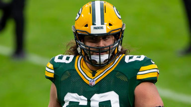Packers left tackle David Bakhtiari has allowed only one sack all season, according to Pro Football Focus