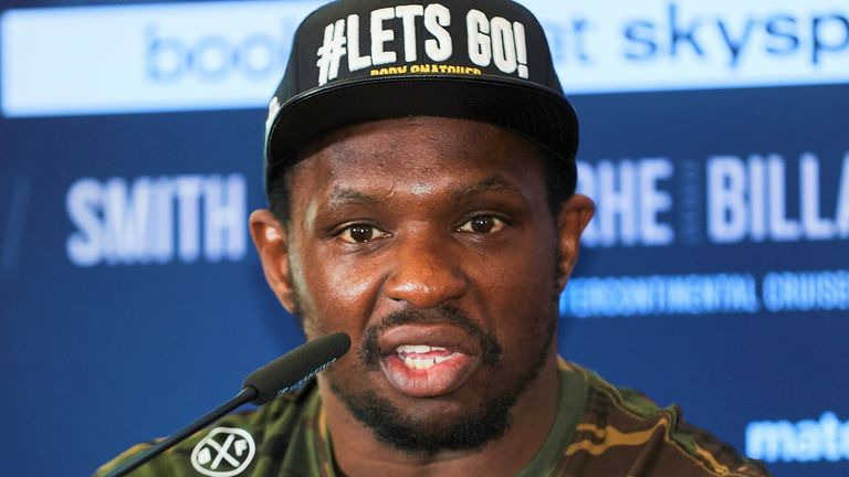 Dillian Whyte remains determined to fight Anthony Joshua again