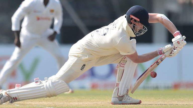 Dom Sibley made his third Test fifty to take England to victory in Galle