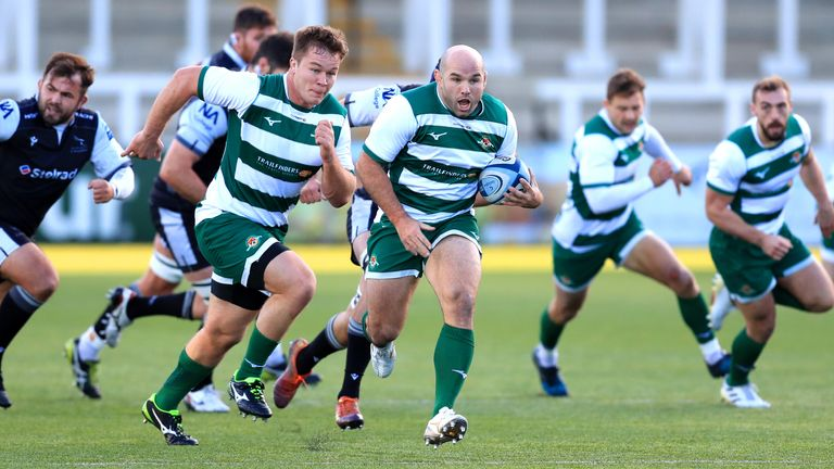 Ealing Trailfinders get to test themselves against Saracens on Saturday