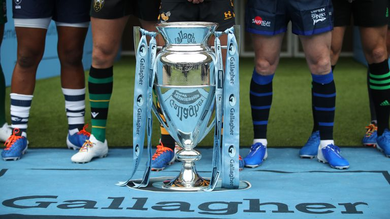 The Premiership Rugby season is set to conclude on the weekend of June 12th