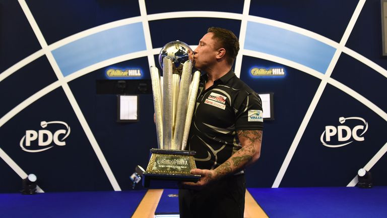 The Iceman took home the iconic Sid Waddell Trophy with a 7-3 win over Gary Anderson in January