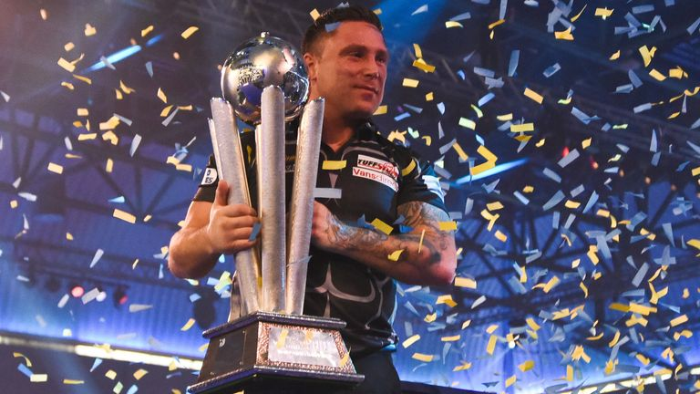 Gerwyn Price was crowned 2021 World Darts Champion earlier this month