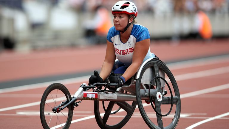 Cockroft is hoping to add to the five Paralympic gold medals she won in London and Rio