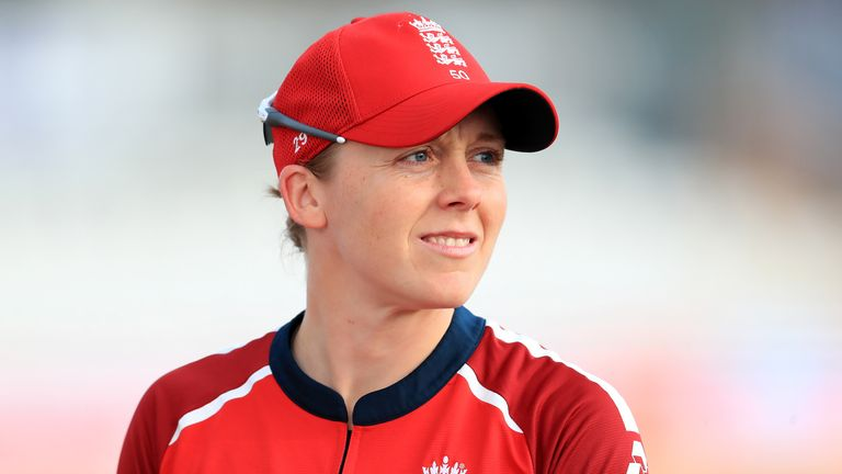 Captain Heather Knight will lead England Women's first trip to Pakistan