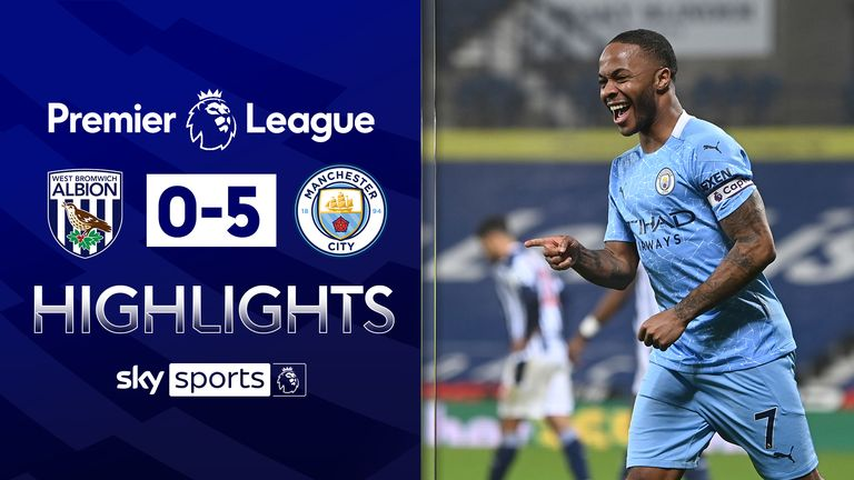 FREE TO WATCH: Highlights from Manchester City's win at West Brom in the Premier League.