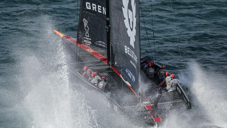 The top speeds exceeded the 50 knot mark for the first time in the competition (Image Credit - COR 36 | Studio Borlenghi)