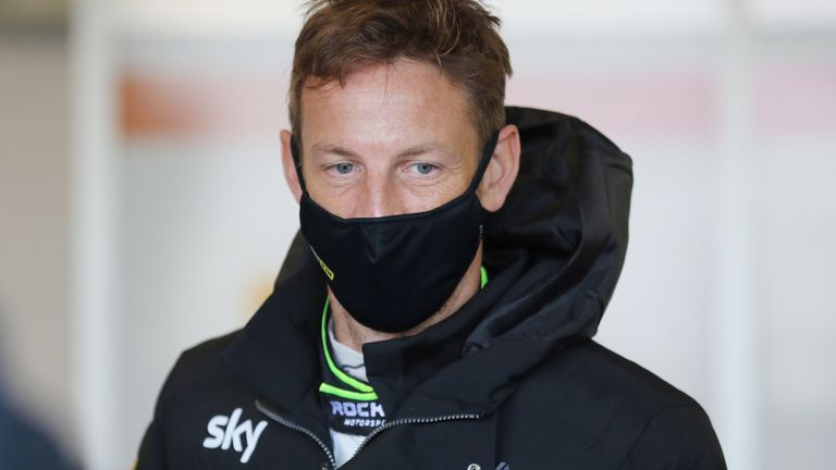 Jenson Button joined the Sky Sports F1 team in 2019 and continues to race in different categories
