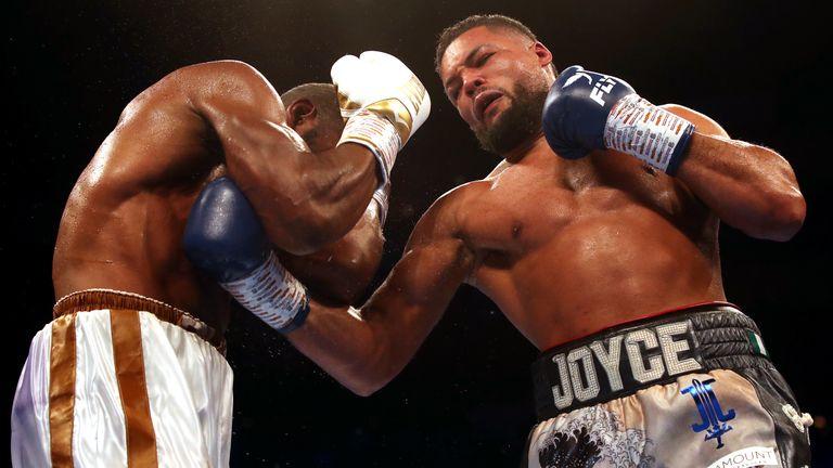 Joe Joyce is undefeated in 12 fights