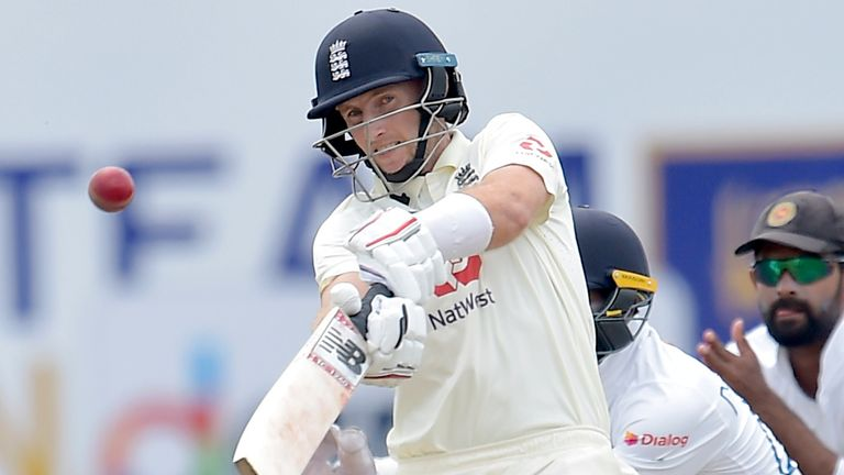 Joe Root scored his 18th Test hundred on day two of the first Test against Sri Lanka