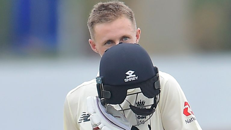 Root passed 8,000 Test runs during his innings, making him the second-quickest England batsman to the milestone after Kevin Pietersen