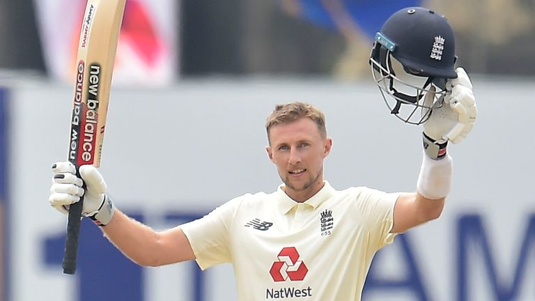 Root's hundred came in just 139 balls