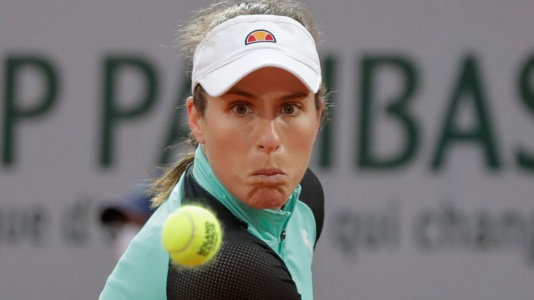 Johanna Konta is hopeful of playing her best tennis on the clay as she prepares for this year's French Open at Roland Garros