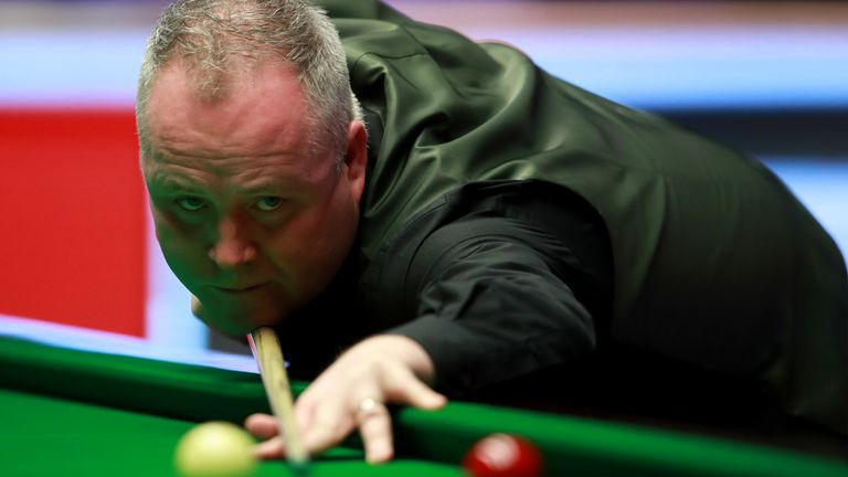 John Higgins has tested positive for coronavirus