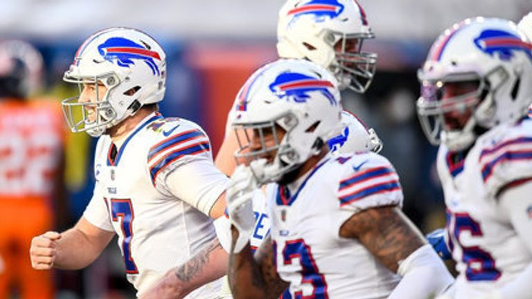 Josh Allen and the Buffalo Bills are streaking into the playoffs with eight wins in their last nine games