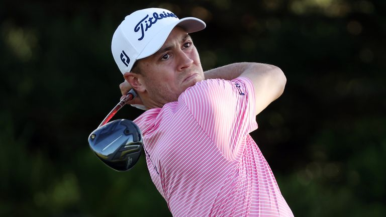 Justin Thomas is still dealing with the fallout from his offensive slur in Kapalua