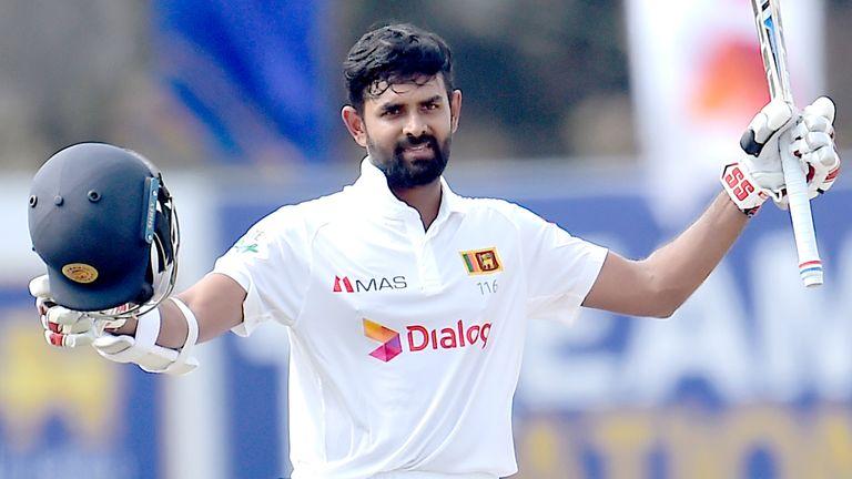 Sri Lanka opener Lahiru Thirimanne scored his first Test hundred since March 2013