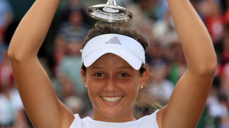 Robson won the junior Wimbledon girls' title in 2008