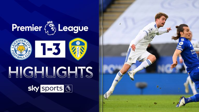 FREE TO WATCH: Highlights from Leeds' win over Leicester in the Premier League