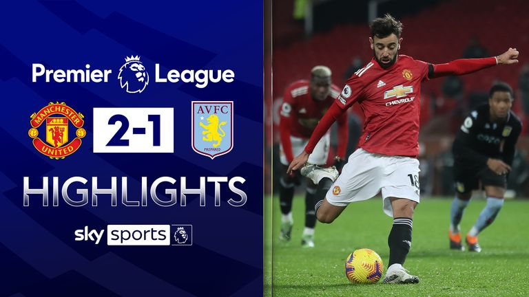 FREE TO WATCH: Highlights from Manchester United's win over Aston Villa in the Premier League.